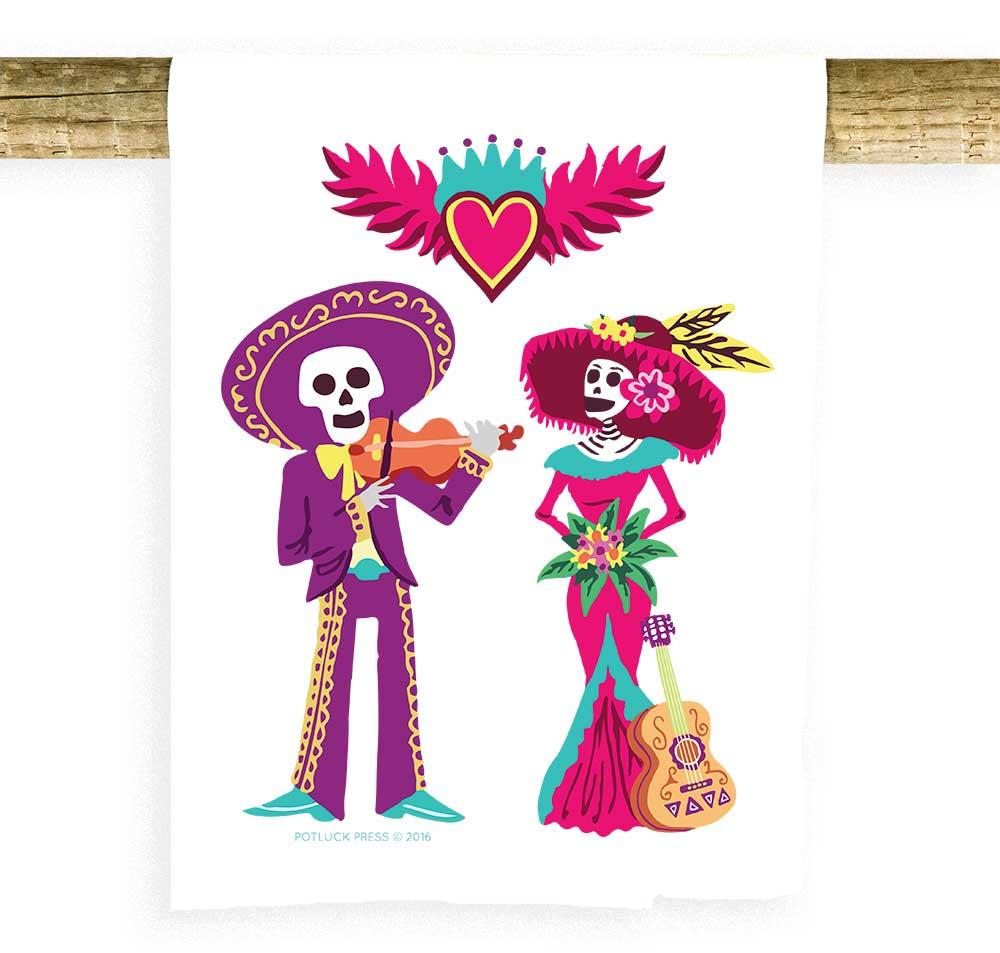 Dia De Los Muertos Musicians - Potluck Press
