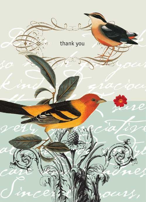 Thank You Birds Potluck Press