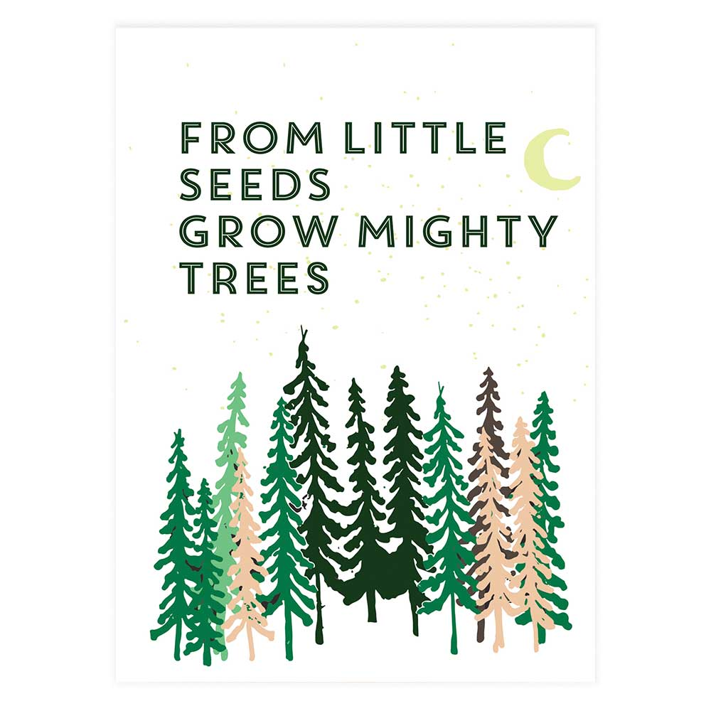 From Little Seeds Grow Mighty Trees Potluck Press