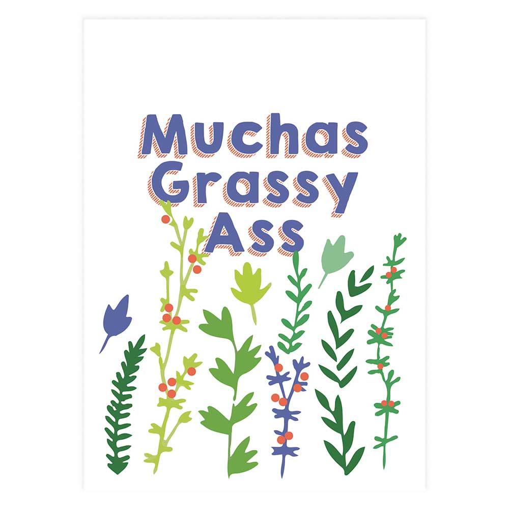 Muchas Grassy Ass Potluck Press